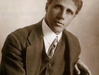 Robert Frost, meet Frederic Goudy